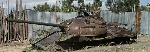 Broken Down Tank Somalia