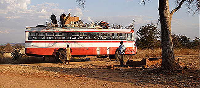Rural Bus Zimbabwe