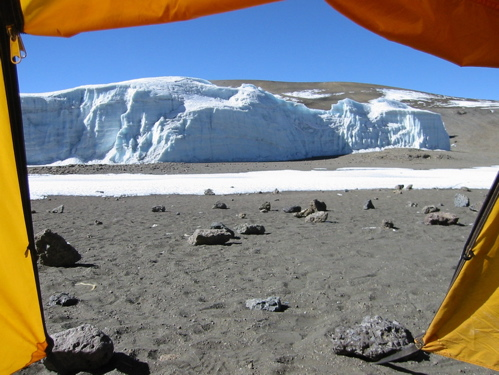 Crater Camp 18,800 ft.