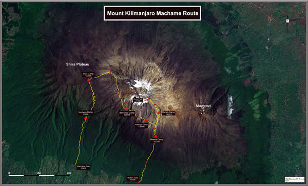 Kilimanjaro Machame Route