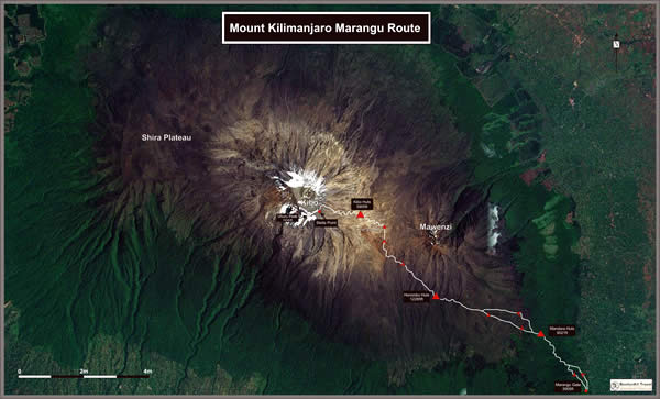 Kilimanjaro Marangu Route