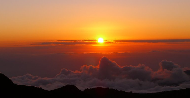 Sunrise Over Kili