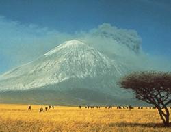 View of Lengai