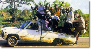 Image result for taxi in africa