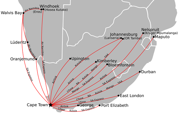 Getting between cape town and durban south africa travel - Drive from port elizabeth to cape town ...
